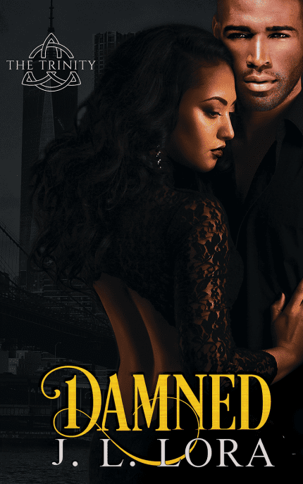 Damned is a collection of deleted scenes from Boss and Made, the first two books of The Trinity Series